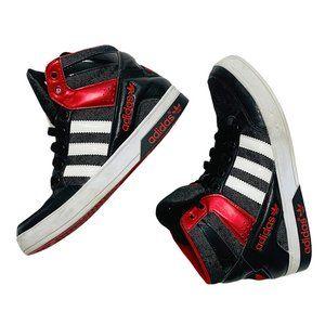 Adidas Court Attitude K Black/Red